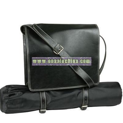 Faux Leather Dispatch Yoga Bag