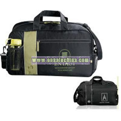 Black Deluxe Duffel Bag
