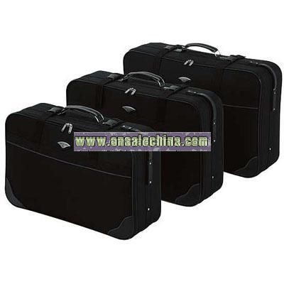 Constellation 3 Piece Suitcase Set - Black