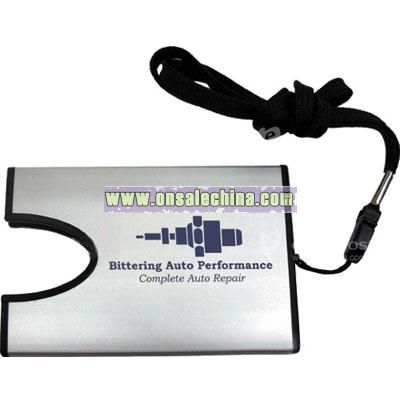 Business Card Holder on Lanyard