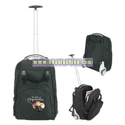 Promotional Trolley Computer Wheeled Backpack
