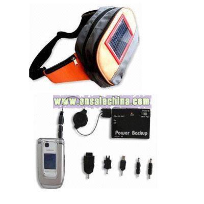 Solar Charge Waist Bag