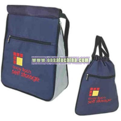 Expandable Flat backpack