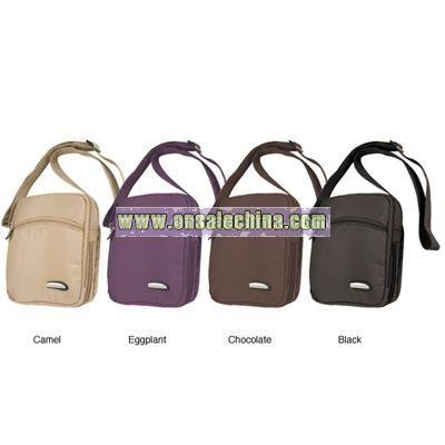 Travelon 3-compartment Expandable Shoulder Bag