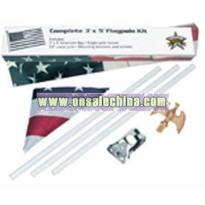 Complete Flag Pole Kit