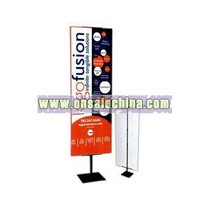 Adjustable graphic banner