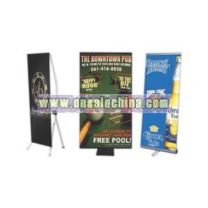 Single sided banner