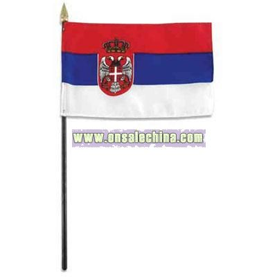 Flag with Plastic Pole