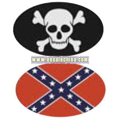Magnet Rebel Flag