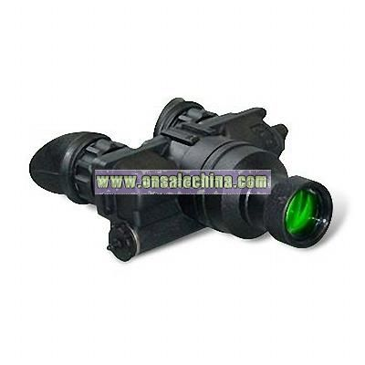 Nightvision Monocular with Objective Lens and Built-in Infrared Illuminator