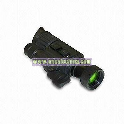Nightvision Monocular with Built-in Infrared Illuminator and Internal Indicator