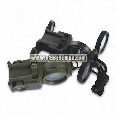 Toy Binocular with Built-in Compass
