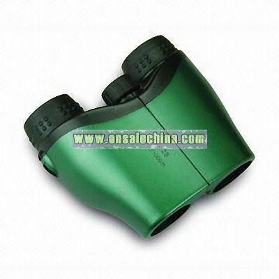 Classic 10x25 Green Binoculars