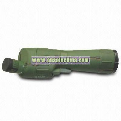 Aluminum-rubber Composite Design Spotting Scope