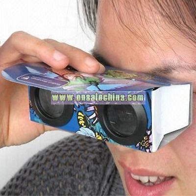 Foldable Paper Binoculars