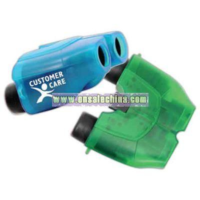 Transparent Binoculars