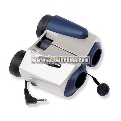 AirWave 5x21mm am/fm radio binoculars