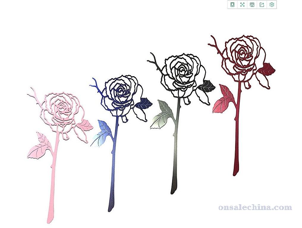 Rose Book Mark