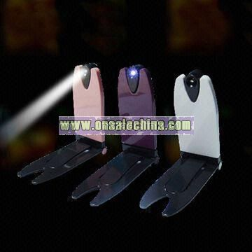 LED Book Lamp with Shoot Led Light