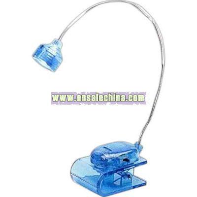 Flexible portable book light