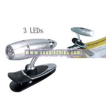 3 LED Book Light