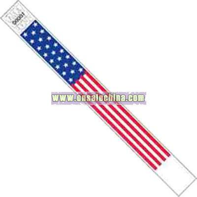 Flag design Tyvek wristband