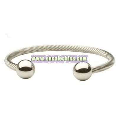 Sabona Wire Magnetic Bracelet Stainless