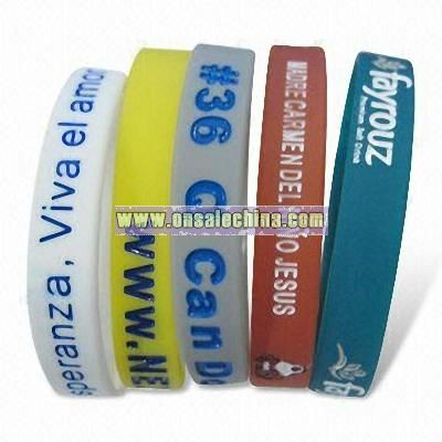 BUY WHOLESALE AWARENESS BRACELETS, PROMOTIONAL SILICONE WRISTBANDS