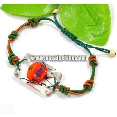 Insect Amber Bracelet