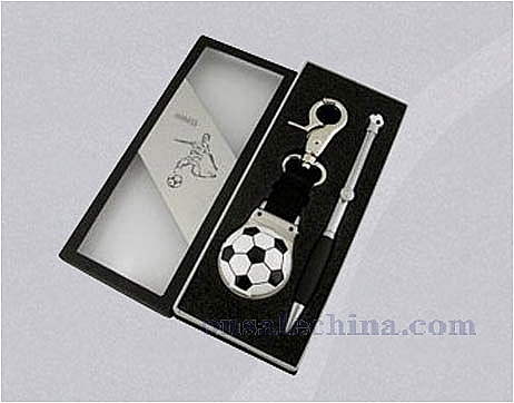 Sport gift set with pen and ke