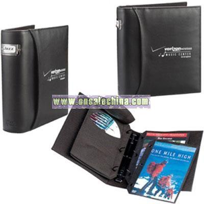 Case Logic DVD 3-Ring Bookshelf Album - Black