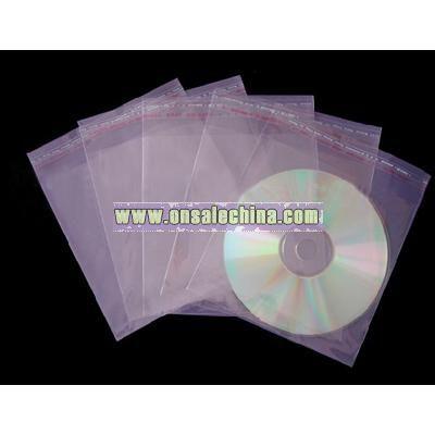 Plastic CD sleeve