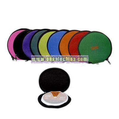 Round neoprene CD cases