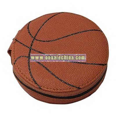 PVC basketball shaped CD holder