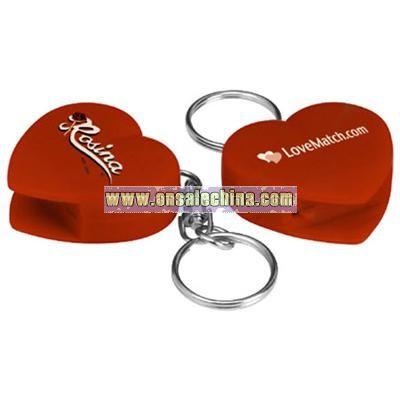 Heart CD Opener Keychain