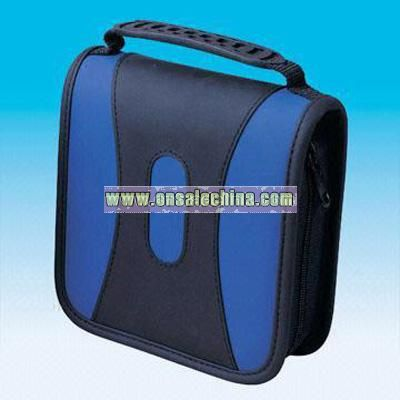 Stylish Blue CD Bag