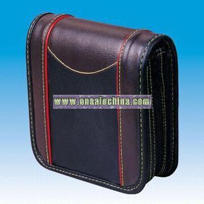 32-piece Leather CD Bag