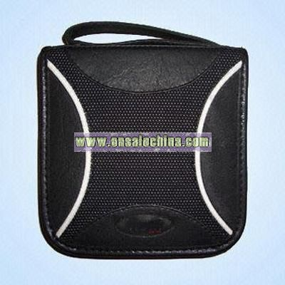Deluxe Artificial and Basketball Leather CD Wallets