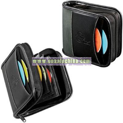 Case Logic Deluxe Colorado CD Wallet, 34 Disc - Black