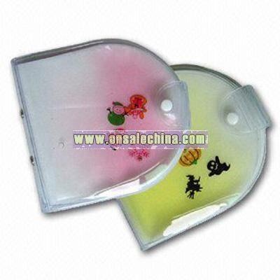 PVC Liquid filled CD Holder