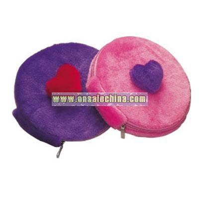Plush Round CD Bag