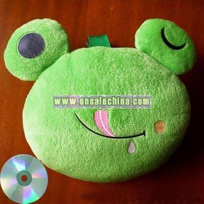 Frog Toy CD Bag