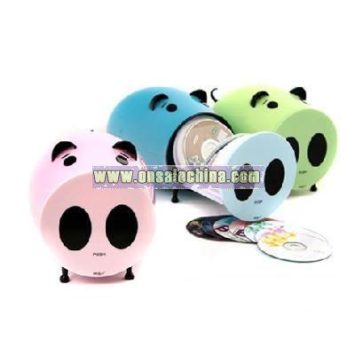Pig Shape CD Case