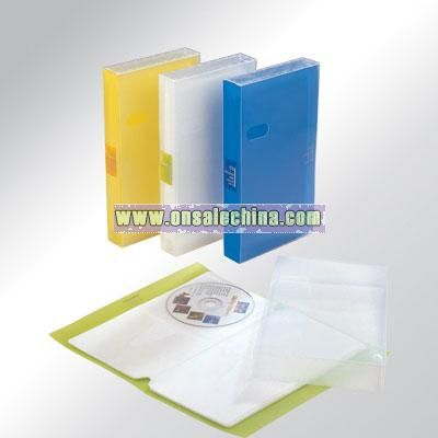 Eco-friendly pp file hold 48 CDs