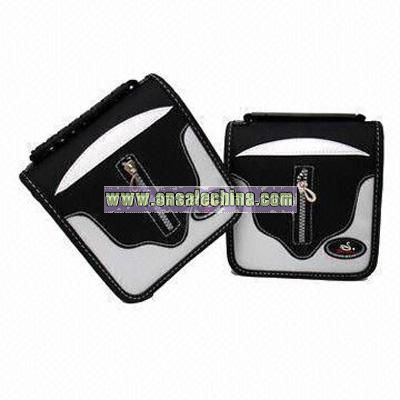 PU Leather CD Wallet
