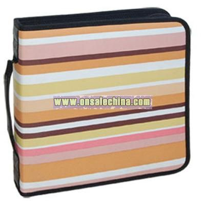 CD wallet holds 208 CDs