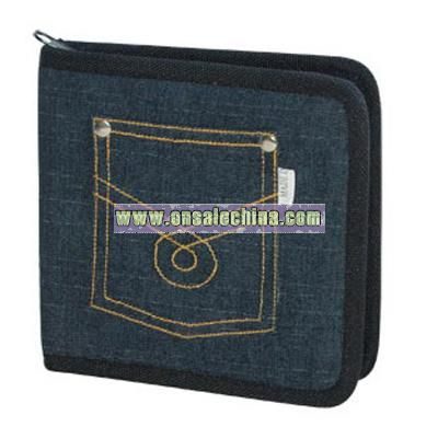 CD wallet holds 12 CDs