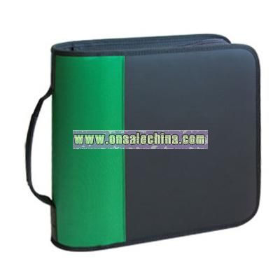 CD wallet holds 96 CDs