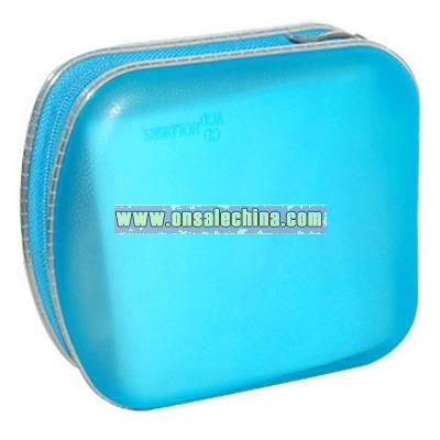 CD wallet holds 40 CDs