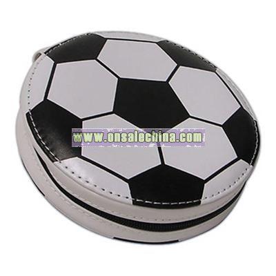 PVC soccer CD holder